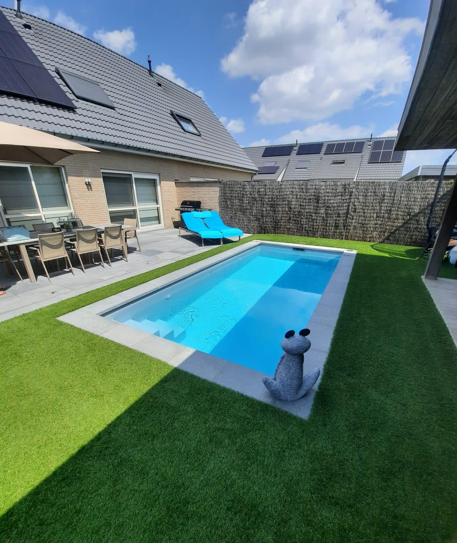 Zelfbouwzwembad